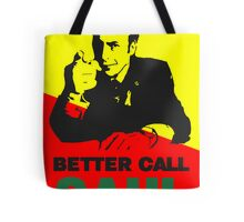Better Call Saul (Red/Yellow) Tote Bag