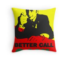 Better Call Saul (Red/Yellow) Throw Pillow