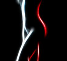 Nude Lines Sticker