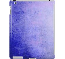 Abstract iPad Case Crazy Blue Colors Cool Lovely New Grunge Texture iPad Case/Skin