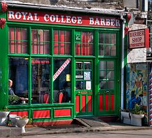Royal College Barber by AJM Photography