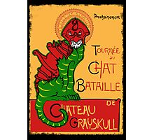 Chat Bataille Photographic Print