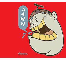 Timmy Yelling Jawn Graffiti Character Photographic Print
