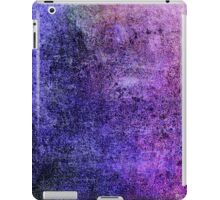 Abstract iPad Case Crazy Blue Violet Colors Cool Lovely New Grunge Texture iPad Case/Skin