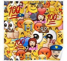 Mixed Emoji's Poster