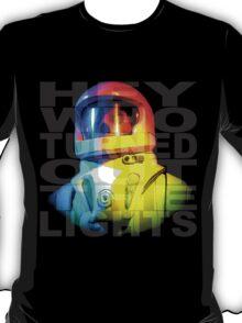 "Vashta Nerada – ""Hey, who turned out the lights?"" T-Shirt"