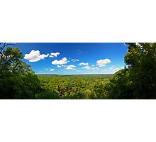 Chalk Bluff Outlook - Illinois Photographic Print
