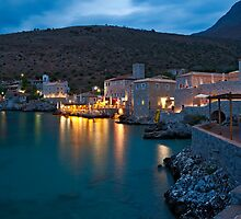 Limeni at dusk, Mani, Peloponnese by Konstantinos Arvanitopoulos
