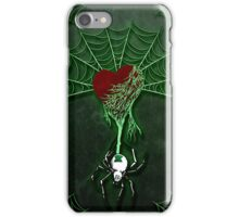 Black Widow (Green) iPhone Case/Skin