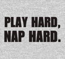 Play hard, nap hard Kids Tee