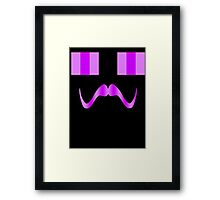 Enderstache Framed Print