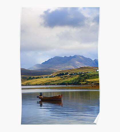 Loch Harport and the Cuillins Poster