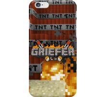 Minecraft Griefer Shirt iPhone Case/Skin