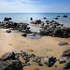 Tranquil Lanzarote Beach by LucyOlver