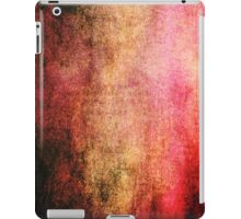 Abstract iPad Case Crazy Red Colors Cool Lovely New Grunge Texture iPad Case/Skin