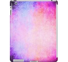 Abstract iPad Case Pink Blue Crazy Colors Vintage Cool Lovely New Grunge Texture iPad Case/Skin