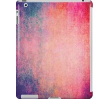 Abstract iPad Case Crazy Blue Red Colors Vintage Cool Lovely New Grunge Texture iPad Case/Skin