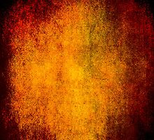 Abstract iPad Case Crazy Orange Vintage Cool Lovely New Grunge Texture by Denis Marsili