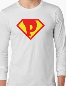 Super Monogram P Long Sleeve T-Shirt