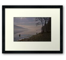 Peaceful Coniston Water  Framed Print