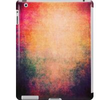 Abstract iPad Case Sunrise Colors Vintage Cool Lovely New Grunge Texture iPad Case/Skin