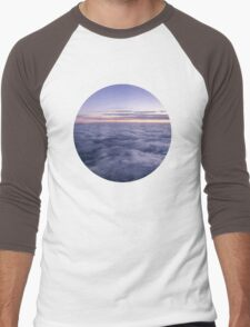 Clouds in the sky Men's Baseball ¾ T-Shirt