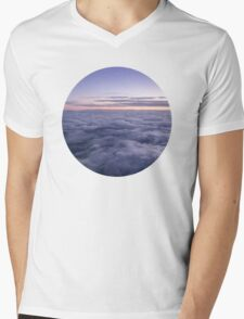 Clouds in the sky Mens V-Neck T-Shirt