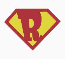 Super Monogram R Kids Tee