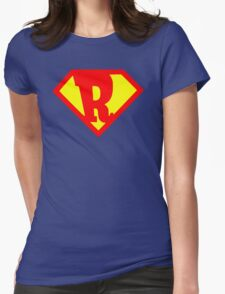 Super Monogram R Womens Fitted T-Shirt