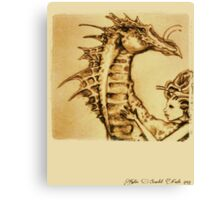 The Dragon Rider Canvas Print