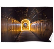 Tunnel of Light Poster