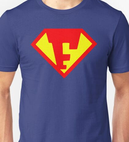 Super Monogram F Unisex T-Shirt