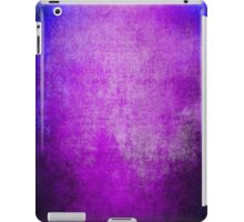 Abstract iPad Case Crazy Blue Violet Cool Lovely Texture iPad Case/Skin