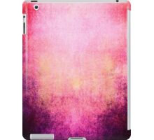 Abstract iPad Case Crazy Pink Red Cool Lovely New Grunge Texture iPad Case/Skin