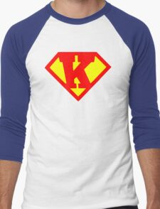 Super Monogram K Men's Baseball ¾ T-Shirt
