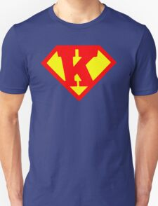 Super Monogram K Unisex T-Shirt