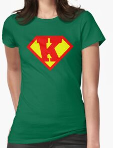 Super Monogram K Womens Fitted T-Shirt
