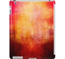 Abstract iPad Case Crazy Red Vintage Cool Lovely New Grunge Texture iPad Case/Skin