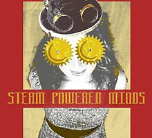 Steam Powered Minds by JD-Designs