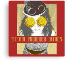 Steam Powered Minds Canvas Print