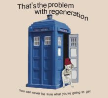 Regeneration problems for the Doctor by Radwulf