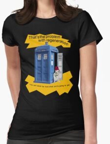 Regeneration problem Doctor ? Womens Fitted T-Shirt