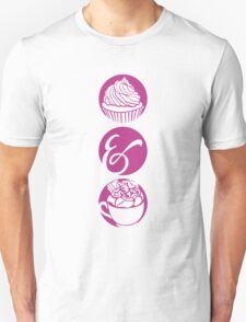Cupcake and Chocolate Unisex T-Shirt