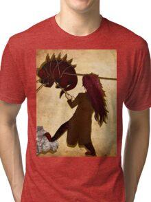Monster Wrangler Tri-blend T-Shirt