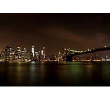 NYC Skyline Photographic Print