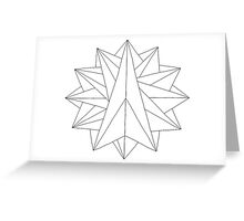 Crystalite Mandala Card - Color Your Own Greeting Card