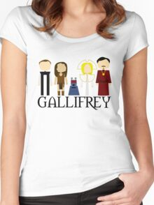 Gallifrey Audios Women's Fitted Scoop T-Shirt