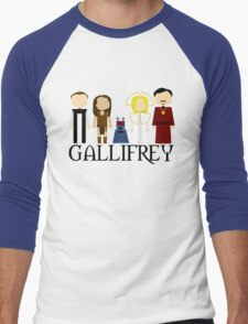 Gallifrey Audios Men's Baseball ¾ T-Shirt