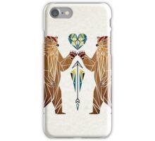 bear love iPhone Case/Skin