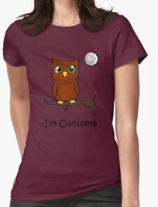 I'm Owlsome Womens Fitted T-Shirt